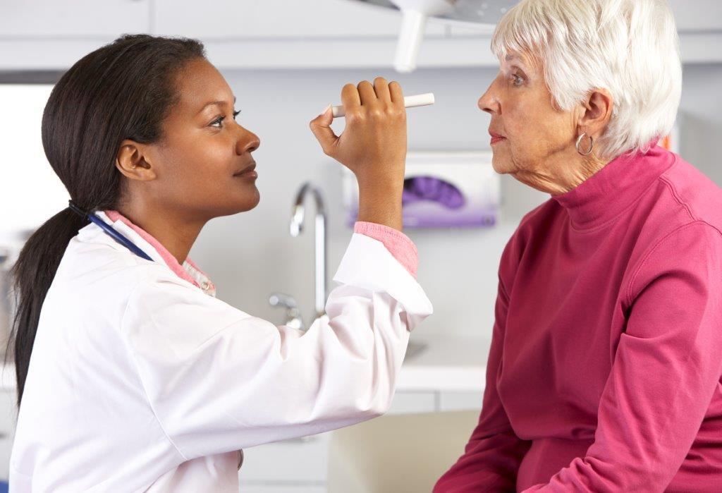 Resultado de imagem para oftalmo e idoso