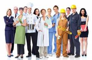 Vários trabalhadores ilustram factores de risco das doenças profissionais