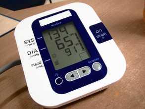 Máquina digital para medir a tensão arterial