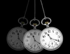 Relógio a balançar utilizado em hipnose