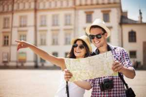 Calor e turistas